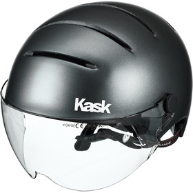 Kask Lifestyle Casco visiera incl., matte anthracite